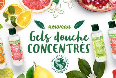 Testez gratuitement la nouvelle gamme de gels douche concentrés Le Petit Marseillais