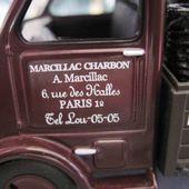 FASCICULE N°43 CAMION PEUGEOT DMA 1946 MARCILLAC LIVRAISON DE CHARBON PARIS - car-collector.net
