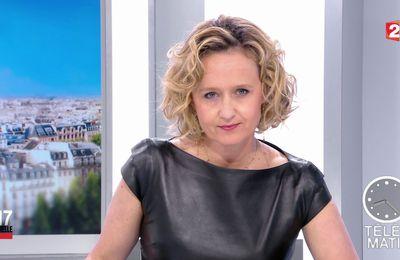 📸6 CAROLINE ROUX @Caroline_Roux ce matin @France2tv pour LES 4 VERITES @telematin #vuesalatele