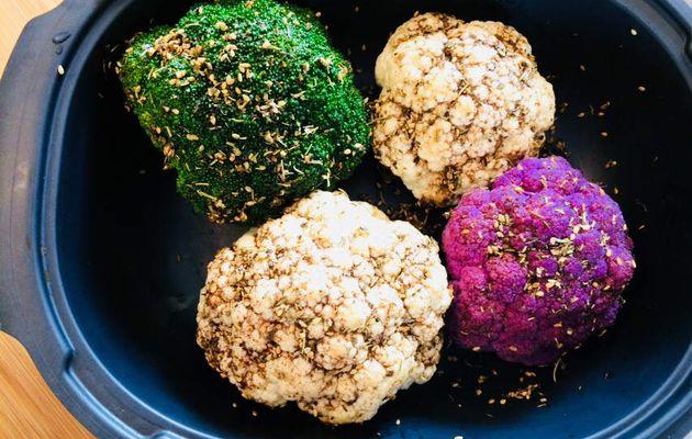 Petits choux (fleurs et Cie) rôtis