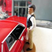 JAGUAR XJS THE AVENGERS CHAPEAU MELON ET BOTTES DE CUIR CORGI 1/36. - car-collector.net