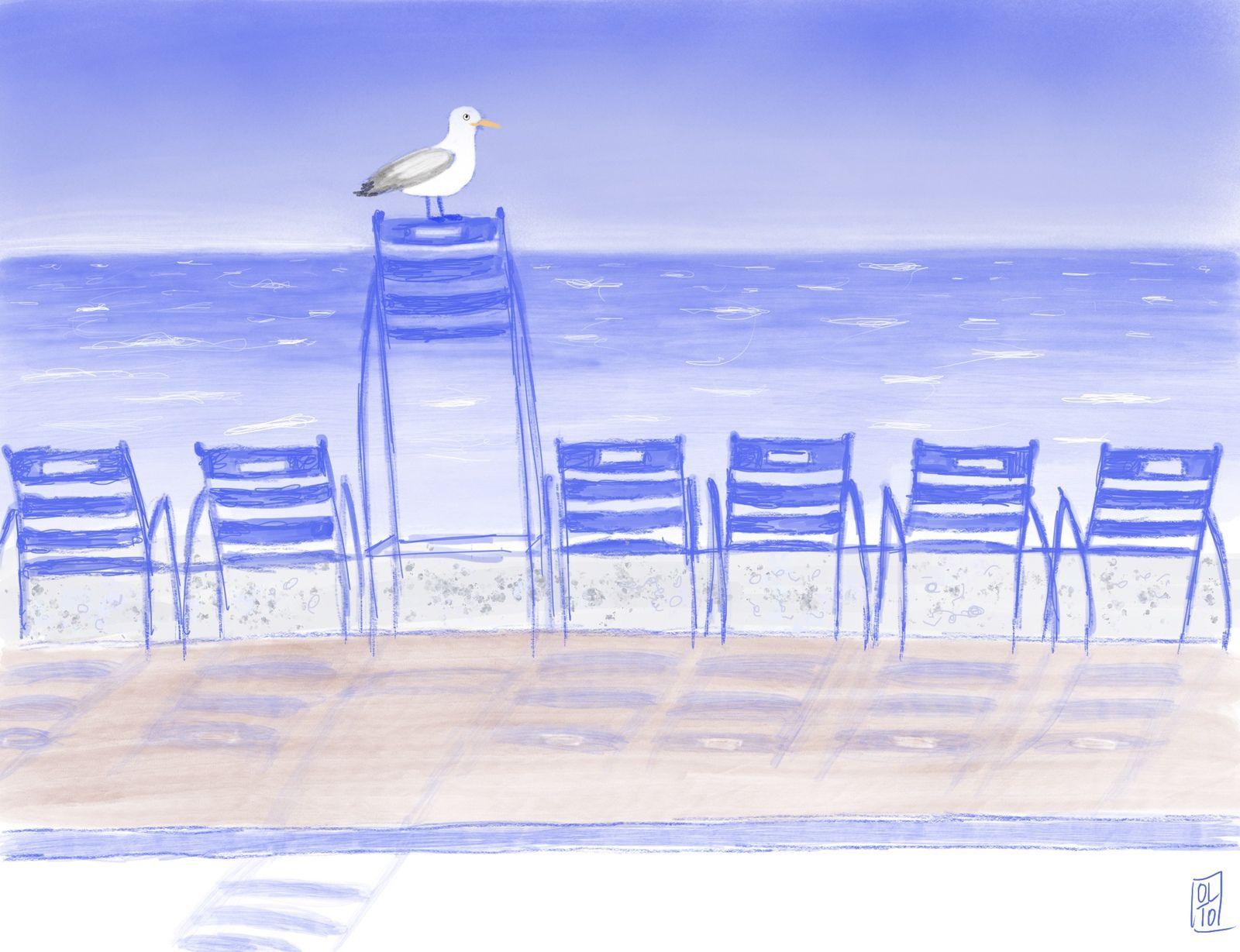 Série La Chaise bleue