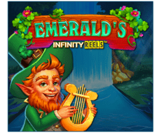 machine a sous en ligne Emerald's Infinity Reels logiciel Relax Gaming
