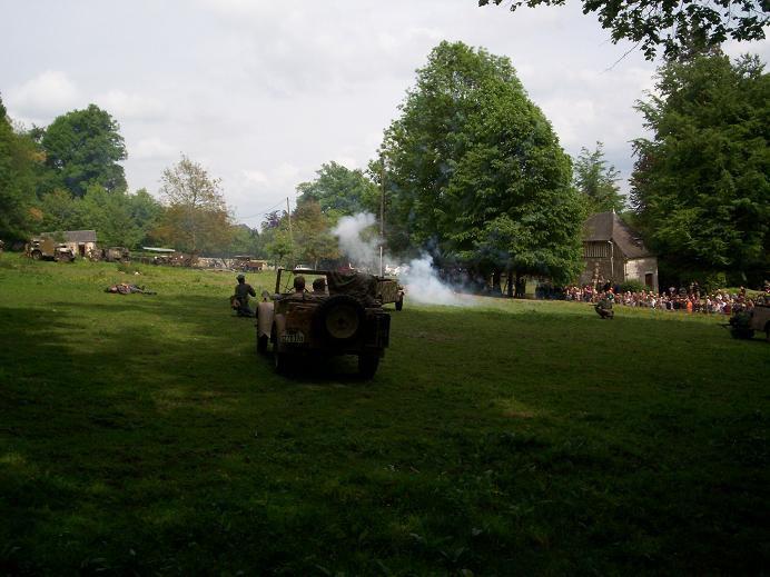 reconstitution historique au chateau du Taillis a Duclair les 8,9 et 10 mai 2009