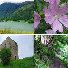 Rando lac de Génos-Loudenvielle au château de Moulor (Hautes-Pyrénées 64) A