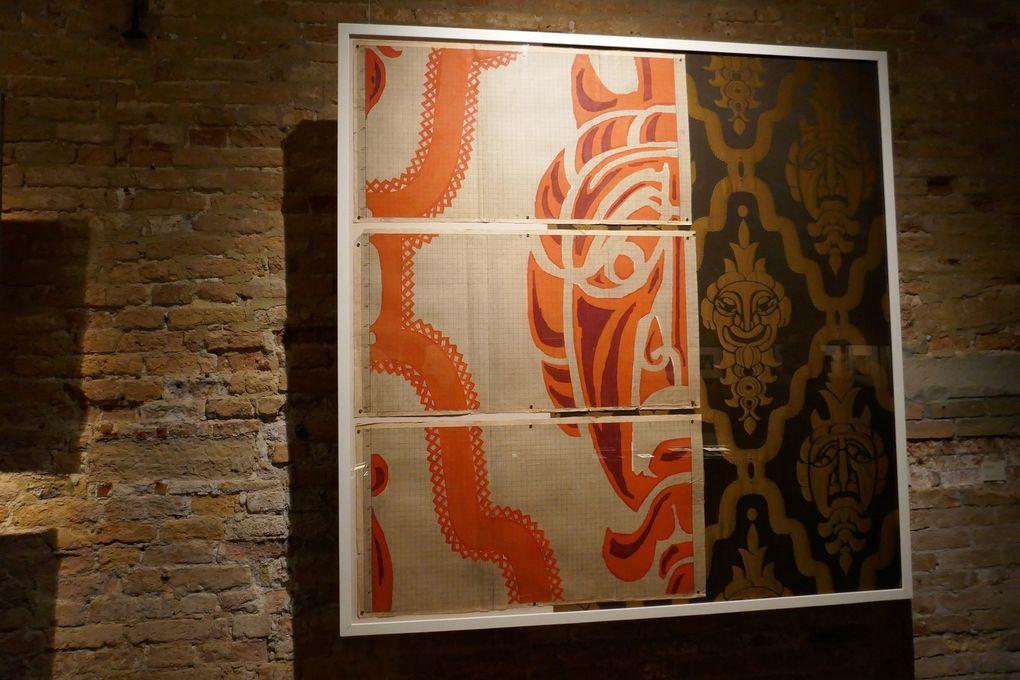 © photographies Le Curieux des arts Antoine Prodhomme, exposition La bottega Cadorin. Una dinastia di artisti veneziani, Venise, palazzo Fortuny, 12 mars 2017