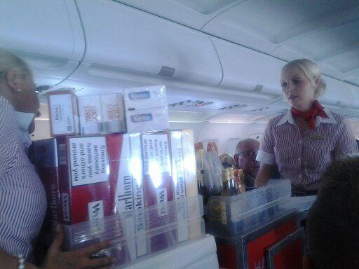 Humour Belge: Première classe en avion