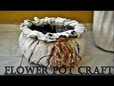 Un pot de fleurs original