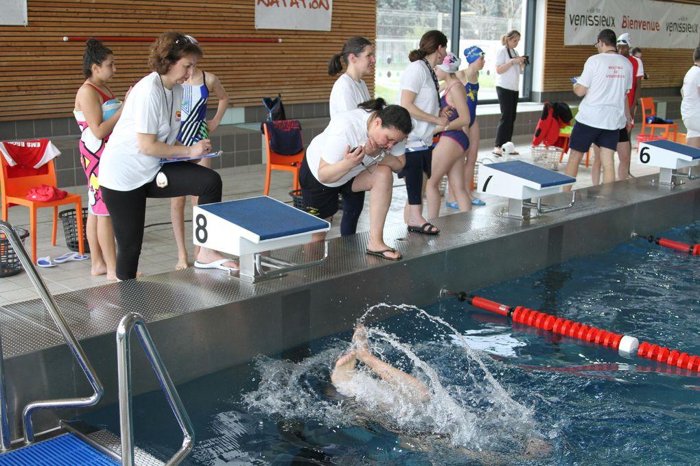 Les 51 nageuses et nageurs du CMO Vénissieux Natation ont battu une centaine de records personnels