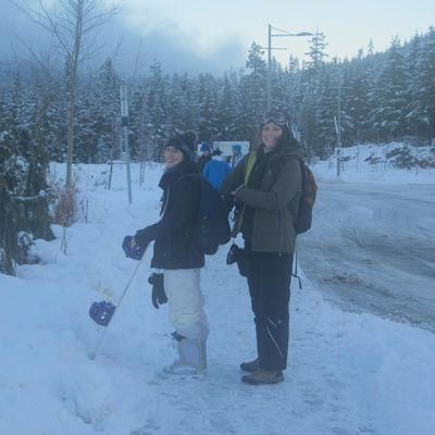 Go Up to Top of Whistler !!!