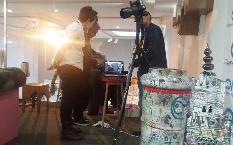 Shooting photo. Notre salon marocain fait sa star !