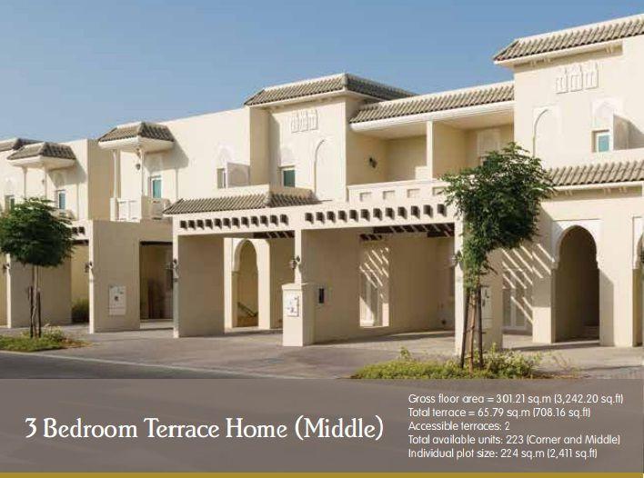 Nakheel Al Furjan Villa Floor Plan   4 Bedroom Price Payment Plan Shekh Jayed road Dubai, Al  Yalayis Road, Sheikh Mohammed Bin Zayed Road