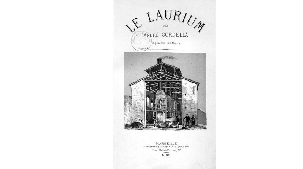 """Première manifestation pour les 150 ans de la fondation de la ville de Lavrio : Présentation de la réédition du livre """"LE LAURIUM"""" d'Andras Cordella"""