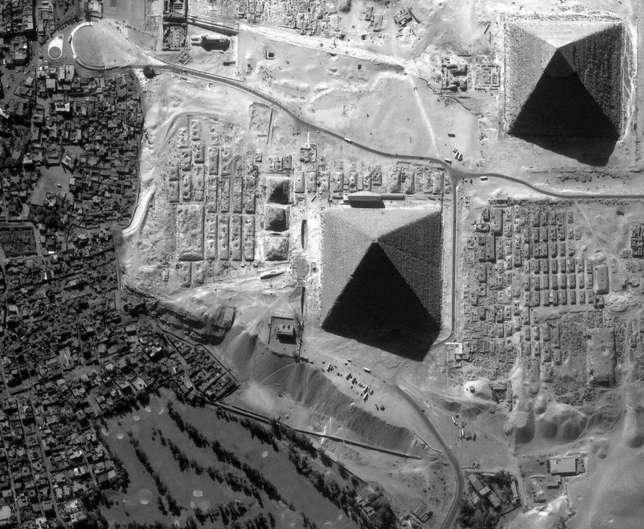 La grande pyramide de Gizeh a huit faces (photos)
