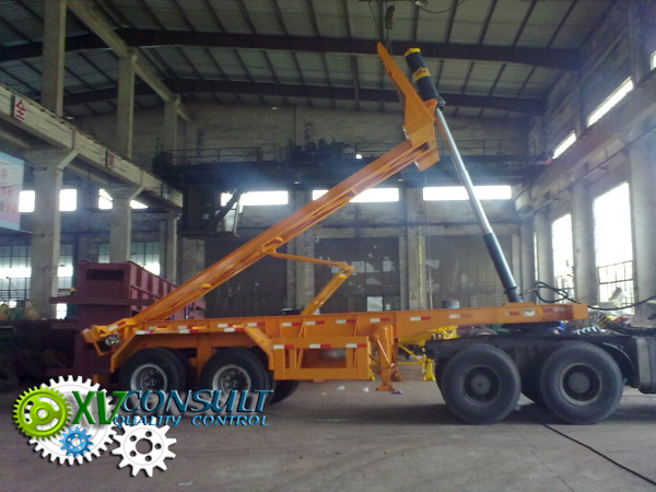 "Export China, manufacturing, quality control , semi trailers dumper  20"" 2 axles - 40"" 3 axles  , transport and export service . :info@xvconsult.com"