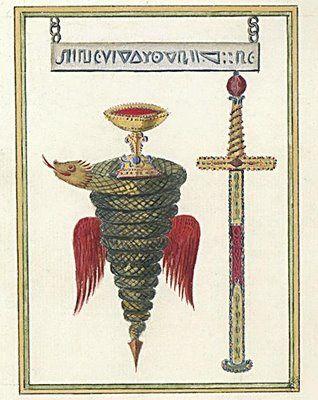 La Très Sainte Trinosophie - Illustrations - Bibliothèque de Troyes