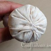 Illustrated Sewing Tutorial - How to Make Standing Fabric Mushrooms