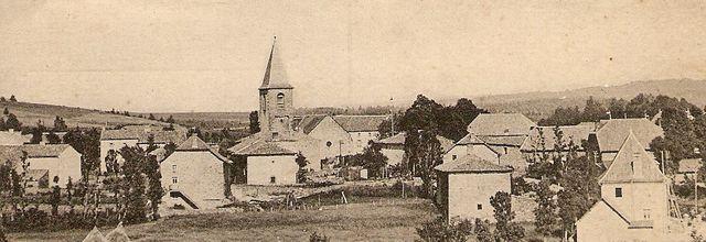 Les villages du Cantal:Vieillespesse