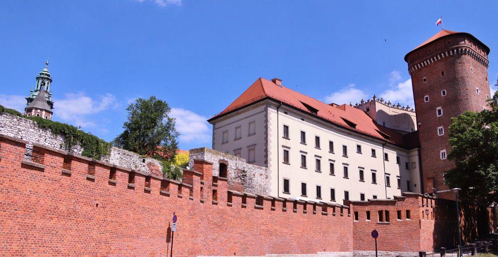 Château royal Wawel Cracovie Pologne