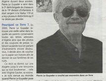 La Turballe des news - 37 - L'Echo de la Presqu'île parle du livre de Pierre Le Guyader, Calypso dans la Soummam - 1956 1958