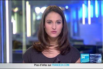 2012 02 19 @21H33 - MARION GAUDIN, FRANCE 24, LE JOURNAL