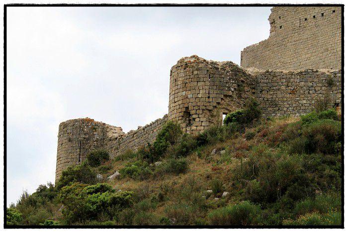 Diaporama château d'Aguilar - Tuchan