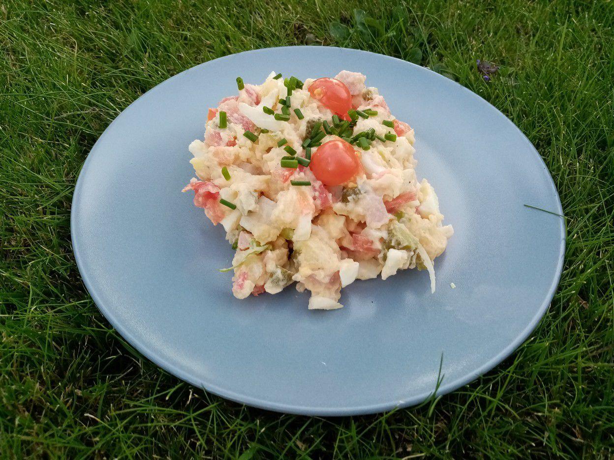 Salade piémontaise de Cyril Lignac dans tous en cuisine