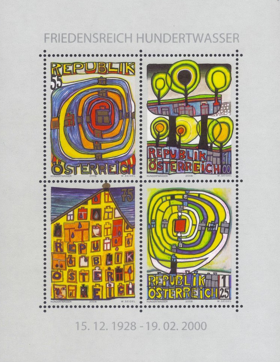 HUNDERTWASSER (Friedrich STOWASSER)