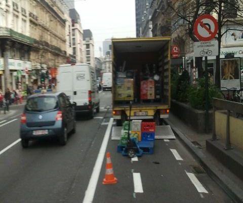 Ville de Bruxelles : Des boulevards du centre (presque) cyclables