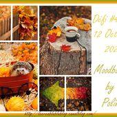 Défi #42 du 12 Octobre - Moodboard - Le creablablablog
