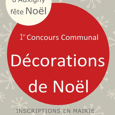 Concours décorations de Noël 2020