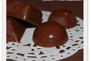 Des petits Chocolats Caramel - Spéculoos ...