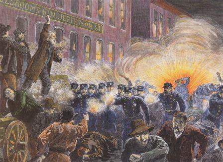 La vraie histoire du premier mai : 1886, le massacre de Haymarket square