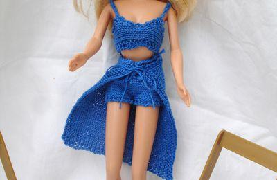 Une jupe pour Barbie modèle tuto gratuit
