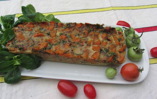 Terrine de carottes aux champignons