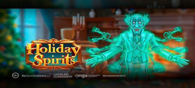 machine à sous de Noël Holiday Spirits développeur Play'n Go