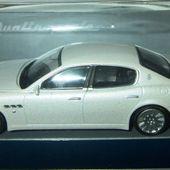 MASERATI QUATTROPORTE 2003 1/43 MONDO MOTORS - car-collector.net