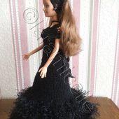 tuto gratuit barbie : robe de soirée - Chez Laramicelle