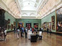 The National Gallery, Madame Tussaud's, Picadilly Circus, ...
