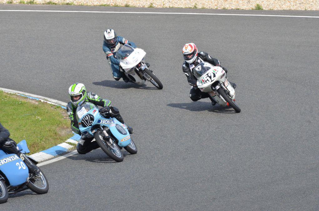 IRON BIKERS 15/16 juin 2013 Carole Démonstration moto anciennes, de collection et cfé racer Photos piste