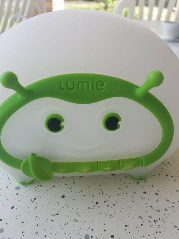 Ma lampe Bedbug de Lumie - La Luminothérapie au service des tout petits !