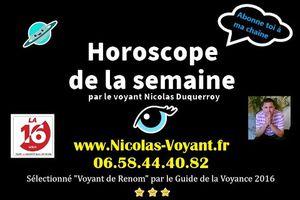 Horoscope gratuit de la semaine du 18 au 24 janvier 2021 par le médium de la radio LA16.fr