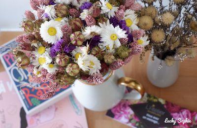 Bouquet de fleurs séchées : conseils pour le faire durer !