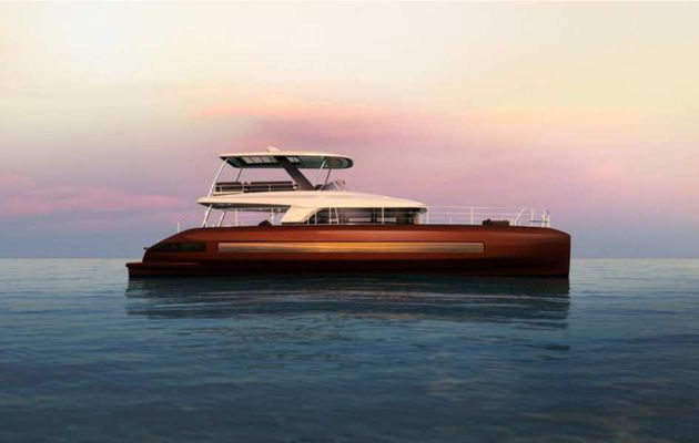 Scoop - first photos of Lagoon Sixty 7, Lagoon's new motoryacht!