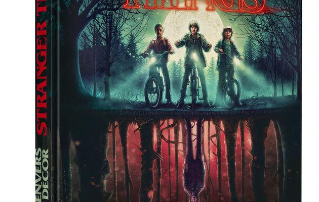[REVUE LIVRE GEEK/SERIES TV] STRANGER THINGS L'ENVERS DU DECOR aux éditions MANA BOOKS