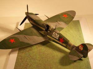 spitfire Mk V russe TAMIYA 1/48