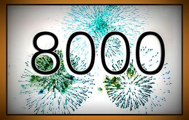 8 000  !!! C'EST LE NOMBRE D'ARTICLES SUR LE SITE DES AMIS D' HOM.ARTS !