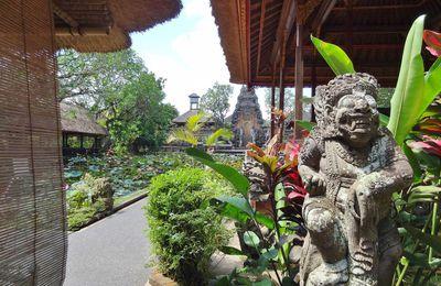 Ibu Oka, café Lotus et Pura Saraswati
