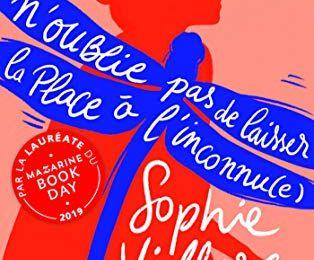 N'oublie pas de laisser la place à l'inconnu(e) de Sophie Villers