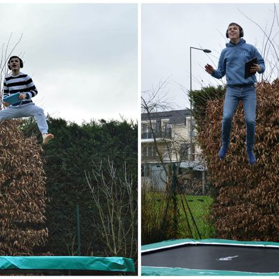 Nouveau trampoline